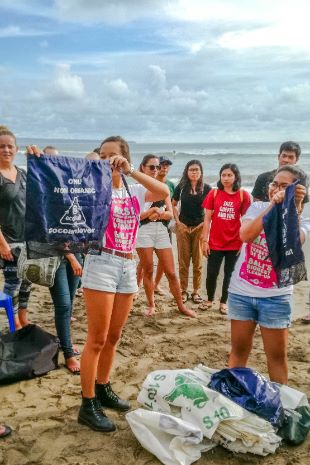 Beach Cleanup in Bali