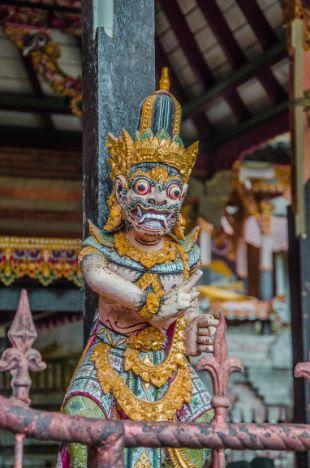 Hindu-Statue auf Bali