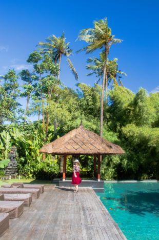 schicke Villa auf Bali