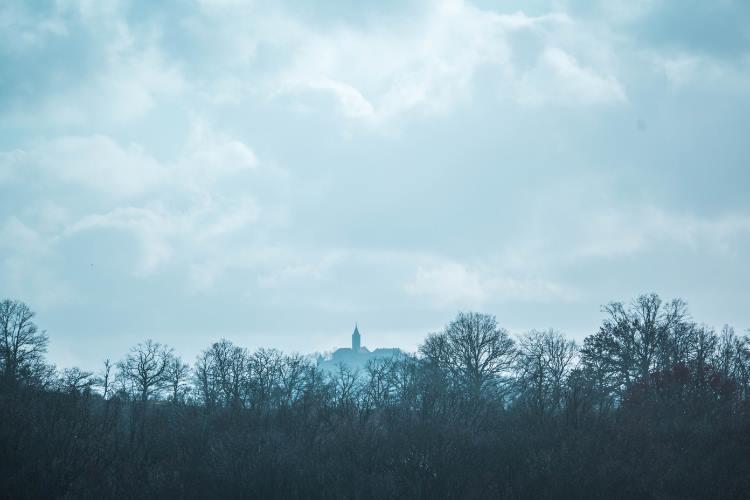 Blick auf die Leuchtenburg
