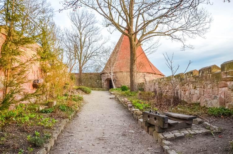 Eckturm in der Leuchtenburg