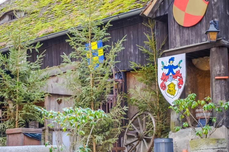 Wappen bei der Leuchtenburg