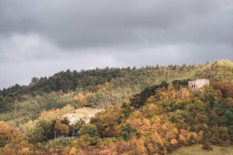 Jenas Lobdeburg im Herbst