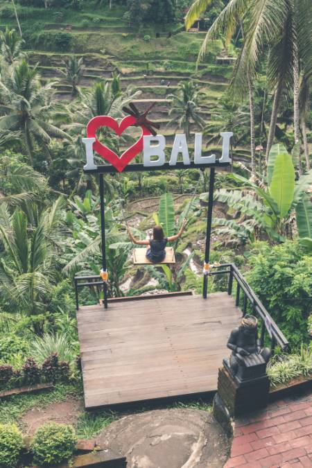 Love Bali Schild