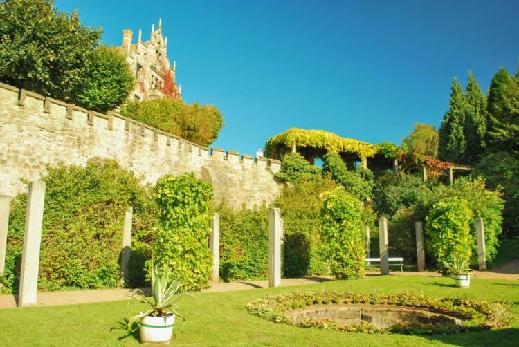 Parkanlage unterhalb Schloss Altenstein
