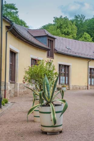 Häuser am Altensteiner Schloss, Thüringen