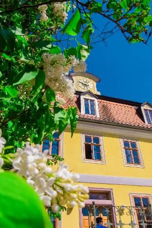 Nebenhaus vom Schloss Belvedere in Weimar