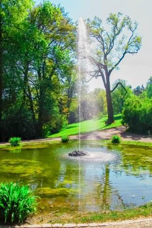 Brunnen im Park Belvedere
