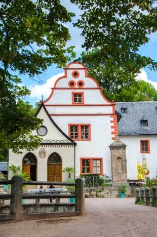 Eingang Schloss Kochberg