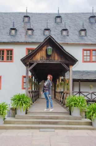Brücke Schloss Kochberg  im Weimarer Land, Thüringen