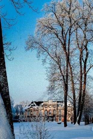 Schloss Molsdorf im Winter