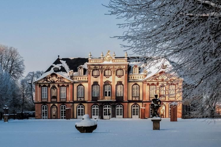 Schloss Molsdorf in Erfurt, Thüringen