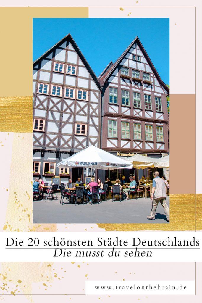Pin: Die 20 schönsten Städte Deutschlands - Die musst du sehen