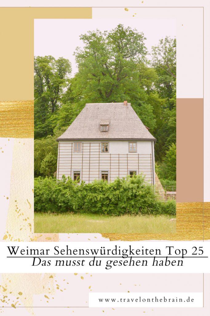Pin: Weimar Sehenswürdigkeiten Top 25 – Das musst du gesehen haben