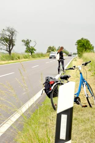 Fahrräder im Weimarer Land