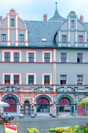 Lucas Cranach Haus von vorne