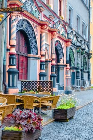 Eingangstür Lucas Cranach Haus