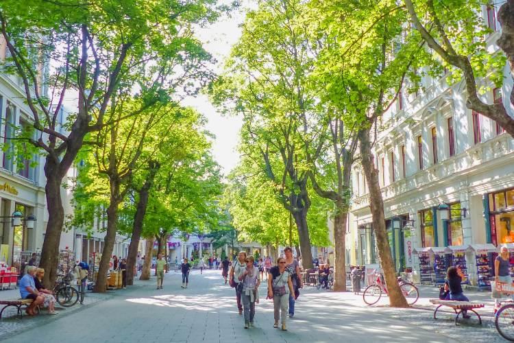 Schillerstraße in Weimar