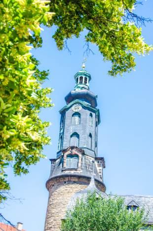 Turm vom Stadtschloss Weimar