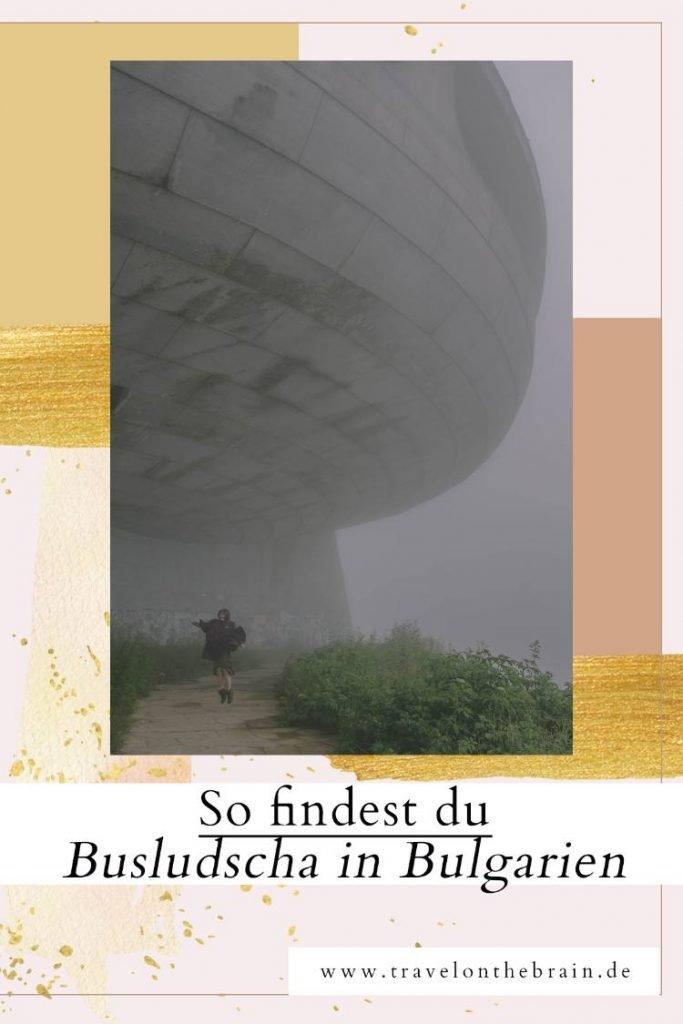 Pin: So findest du das UFO Busludscha-Monument in Bulgarien