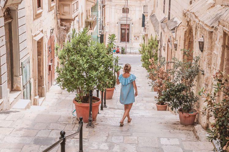 Dara in den Straßen Maltas