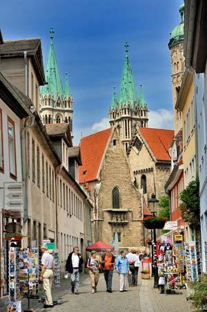 Blick auf Naumburger Dom