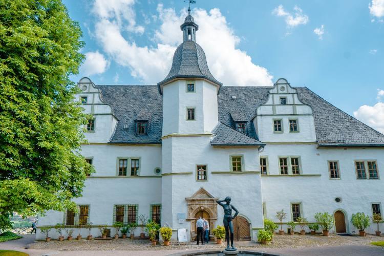 Renaissance Schloss in Dornburg, Thüringen