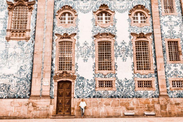 Häuserfassade in Portugal