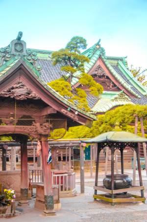 Details am Taishakuten Daikyo-ji Tempel