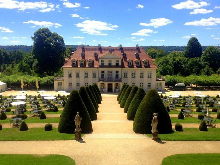 Schloss Wackerbarth in Sachsen