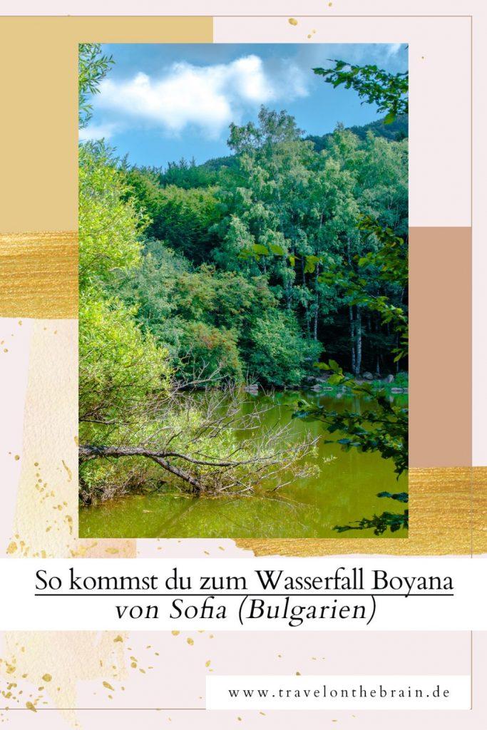 Pin: So kommst du zum Wasserfall Boyana von Sofia (Bulgarien)