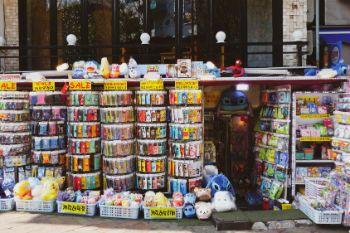 Süße Teile zum Shoppen in Hingdae, Seoul