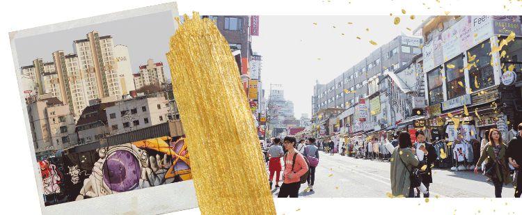 Header: Die 20 Schrägsten Sehenswürdigkeiten in Hongdae Seoul (Südkorea)