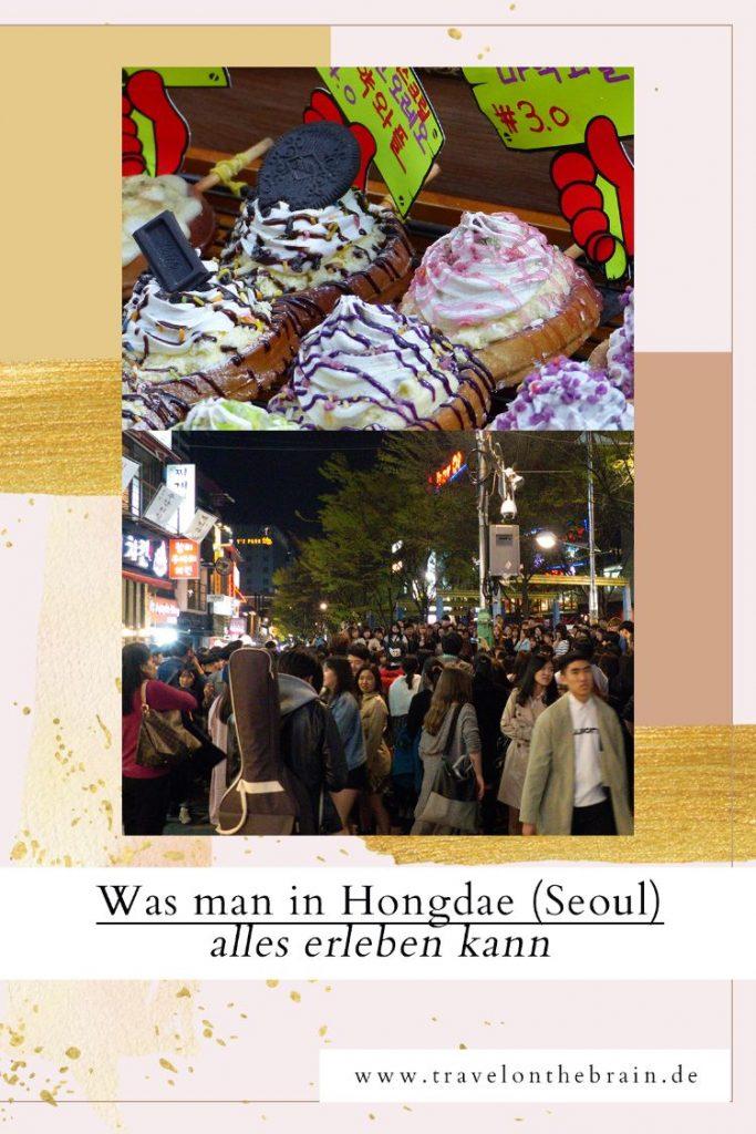Pin: Die 20 Schrägsten Sehenswürdigkeiten in Hongdae Seoul (Südkorea)