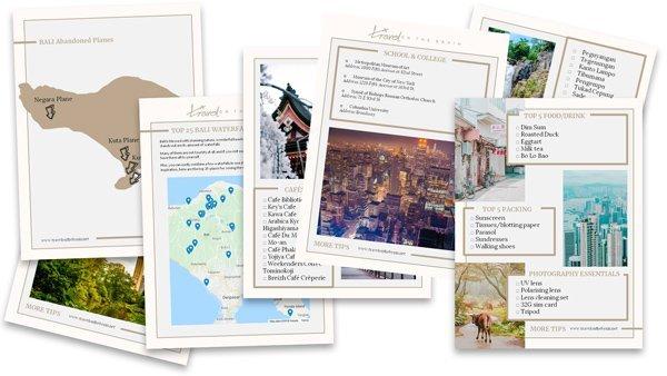 kostenlose Reiseführer mit dem Newsletter