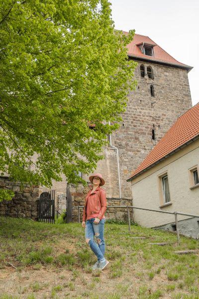 alte Stadtkirche in Leutra bei Jena