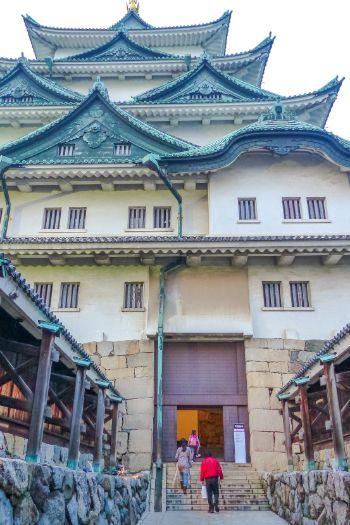 Eingang der Burg Nagoya