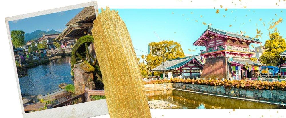 Header: Die 10 schönten Ausflugsziele von Nagoya aus – Burgen, Berge und Blumen