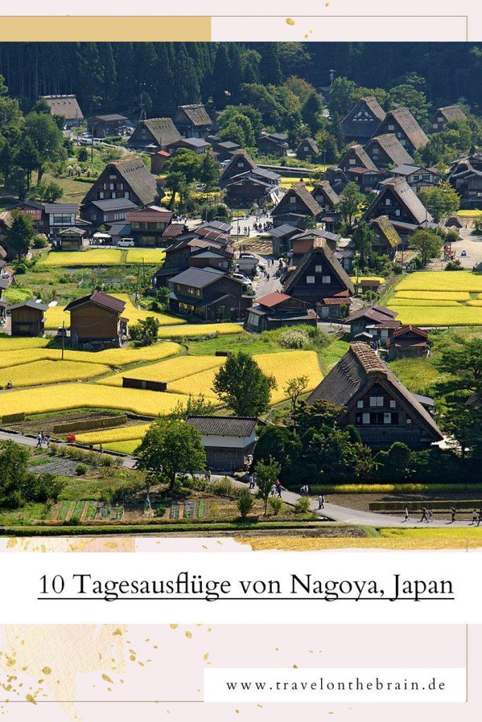Pin: Die 10 schönten Ausflugsziele von Nagoya aus – Burgen, Berge und Blumen
