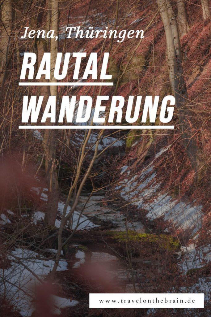 Pin: Wanderung durch das Rautal Jena - Winterlinge und Wasserfälle