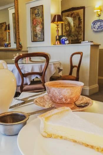 Tea time im Café in Ashburton