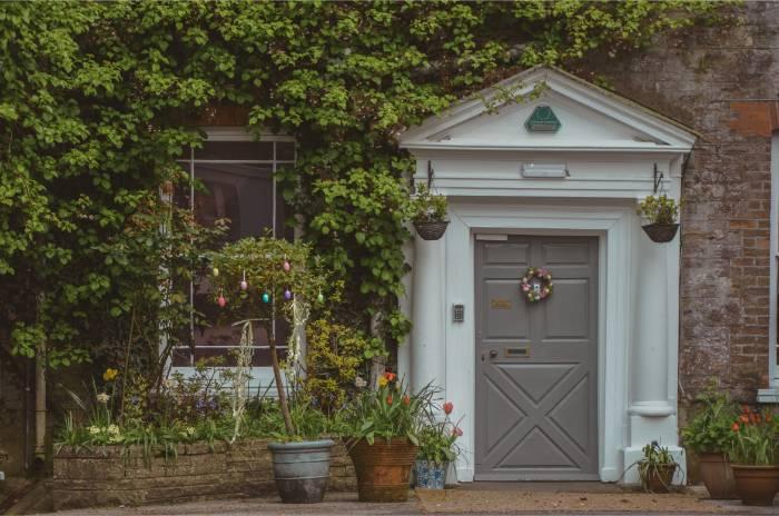 Schicke Tür in Ashburton