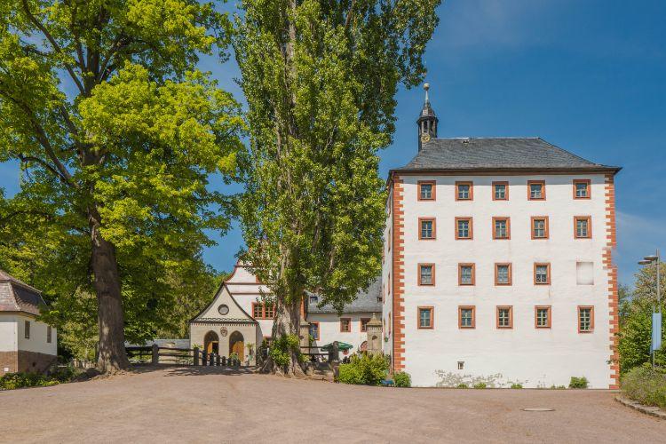 Schloss Kochberg bei Sonnenschrein