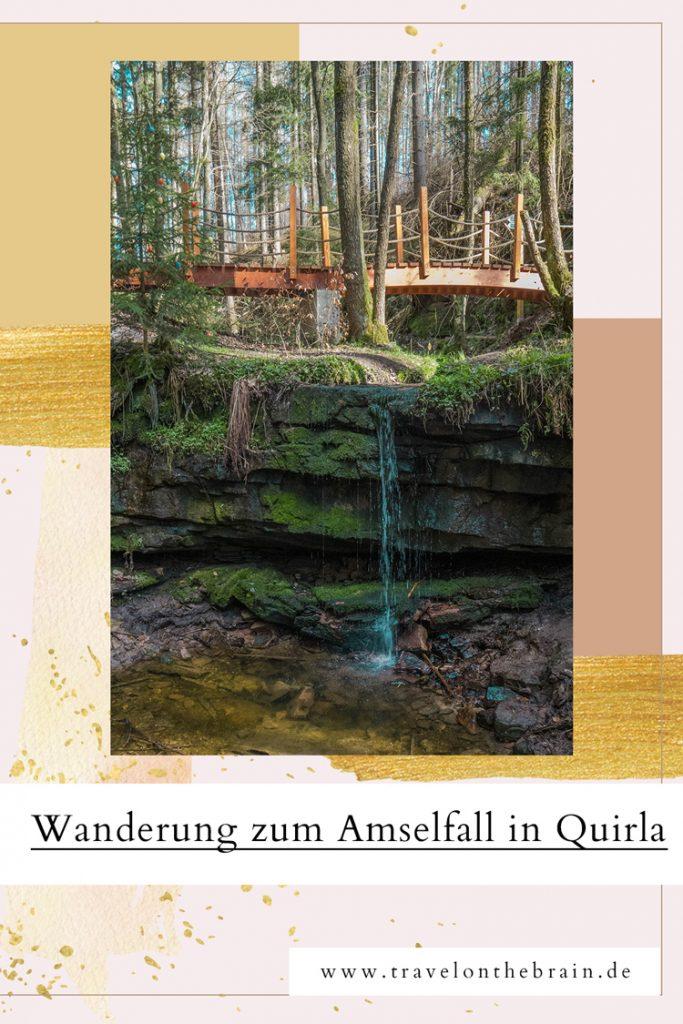Pin: Nossengrund & Amselfall in Quirla, Thüringen